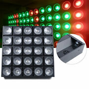 3in1 Led Matrix Light 25 Head Led Rgb Color Professional Stage Effect 25x30w