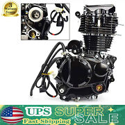 350cc 4 Stroke Engine Motor Single-cylinder Fit Most Chinese 3 Wheel Motorcycle