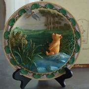 Disney Store Classic Pooh 3d Decorative Plate Limited Edition 7500