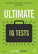 Ultimate Iq Tests 1000 Practice Test Questions To Boost Your Brainpower, Ha...