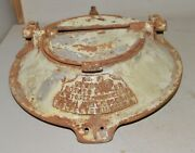 Sterling Cast Iron Potato Peeler Cover Pat 1907 Collectible Industrial Display