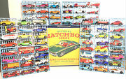 Lot Of 70 Vintage 1969-1970s Matchbox Cars W/ 1968 Deluxe 72 Carry Case-lesney.