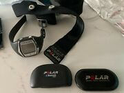 1x Polar Heart Rate Watch 2 Hr Sensors And 1 X Chest Strap