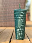 Starbucks Indonesia Matte Green Studded Cold Cup Shipped From Ca, In Hand