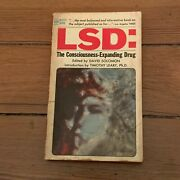 Lsd The Consciousness Expanding Drug David Solomon Timothy Leary Paperback Book