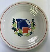 Fiesta Ware 9andrdquo Luncheon Federated Christmas Federated Dpt. Store Exclusive