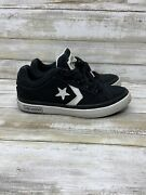 Converse Cons Chuck Taylor All Star Lowtop Black And White Toddler Size 12c