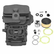 44mm Piston Kit W/air Filter Oil Fuel Line Primer Bulb Forms251 Chainsaw Mp