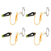 4x Outrigger Power Grip Snap Weight Release Clip For Offshore Boat Fishing