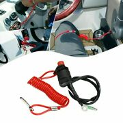 Kill Stop Switch Universal With Safety Tether Lanyard Durable Practical