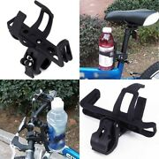 Bike Cup Holder Water Bottle Cage Mount Drink Bicycle Handlebar Racks Accessory