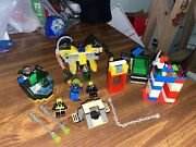 Vintage Lego 6150 Aquazone Hydronauts Crystal Detector Incomplete And More Parts