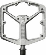 Crank Brothers Stamp 2 Pedal Lg Raw Silver