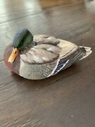 Duck Decoy Mallards By Ashley Gray Hand Carved Limited Edition