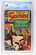 Tales Of Suspense 52 - Marvel 1964 Cgc 1.8 1st Appearance Of The Black Widow