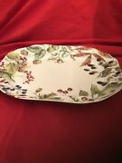 Brand New With Original Tag Spode Woodland Harvest Large Platter Williams Sonoma