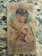 2021 Topps Allen And Ginter Ty Cobb Wood Card True 1/1