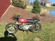 1972 Honda Cl 175, New Carbs, Rebuilt Engine, Bonded Wisconsin Title