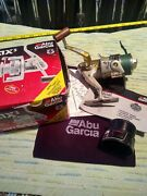 New Abu Garcia Cardinal Pro Max3 Spinning Reel W/boxbag Spare Spool And Booklet