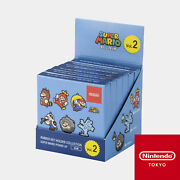 Nintendo Rubber Keychain Collection Super Mario Power Up 2nd Tokyo Limited Box