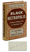 Black Metropolis A Study Of Negro Life Horace Cayton Drake Signed First Edition
