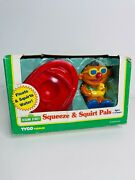 Tyco Sesame Street Squeeze And Squirt Pals - Ernie - Vintage 1996 - Brand New
