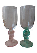Hello Kitty And Kerokeroppi Wine Glasses Set Sanrio Character Collection Goods