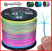 New 9 Strands Strong Braided Pe Fishing Line Pesca Multifilament 300-1000m Super