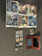 Nintendo 3ds Xl Handheld Lot Charger 10 Games Pokémon Games And Rare Ds Ones