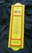 Vintage Advertising Thermometer Twin City Tractor Store