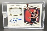 2015-16 National Treasures Ray Allen Jersey 1/1 Game Used Olympic Team Usa 2000
