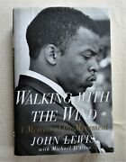 1998 Unread Hc 1st Printing Signed Inscribed Walking With The Wind John Lewis