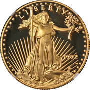 1992-w Gold American Eagle 50 Ngc Pf70 Ultra Cameo Brown Label - Stock