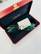 Eyewear Model Eyp00006 Lccp 18k Solid Gold New Made In France