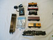 Maine Central 5 Car Freight Train Set. H.o. Scale Complete And Ready To Run Set. E