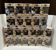 Funko Pop Lot Of 22 The Walking Dead With Exclusives Vinyl Figures W/protector