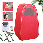 Portable Foldable Detox Beauty Spa Wet Steam Sauna Therapy Heated Sauna Tent