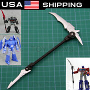 Sliver Sweep Sickle Weapon Upgrade Kit For Studio Series Ss86 Scourge Voyager