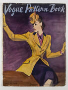 Ruth Grafstrom Us Vogue Couturier Pattern Book Magazine Cover Only February 1940