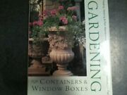 Gardening For Containers And Window Boxes Book The Fast Free Shipping
