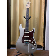 Fender American Elite Hss Strato White 2018 Made In Usa Electric Guitar Used