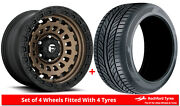 Alloy Wheels And Tyres 20 Fuel Zephyr Truck D634 For Jeep Wrangler [mk4] 18-20