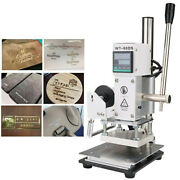 Multi-function Label Stamp Machine For Pvc Card Leather Paper Thermo-embossor