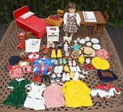 American Girl Doll Molly Pleasant Company Large Lot Furniture Clothing Extras