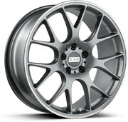 Alloy Wheels 20 Bbs Ch-r Grey Polished Lip For Jeep Cherokee [mk4] 08-13