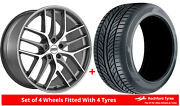 Alloy Wheels And Tyres Wider Rears 20 Bbs Cc-r Tesla Model X