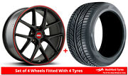 Alloy Wheels And Tyres Wider Rears 19 Bbs Ci-r Nurburgring Tesla Model S