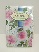 2008 Lady Jayne Personal Journal Roses With Ribbon Bookmark And Pen 7170 Diana