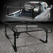 132x 57 Universal Pickup Truck Ladder Rack Trunk Bed Over Cab Cargo Storage