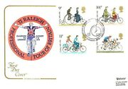 Ti Raleigh Professional Tour Of Britain First Day Cover - 1978